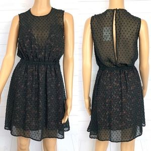 H&M Sleeveless Open Back Dress